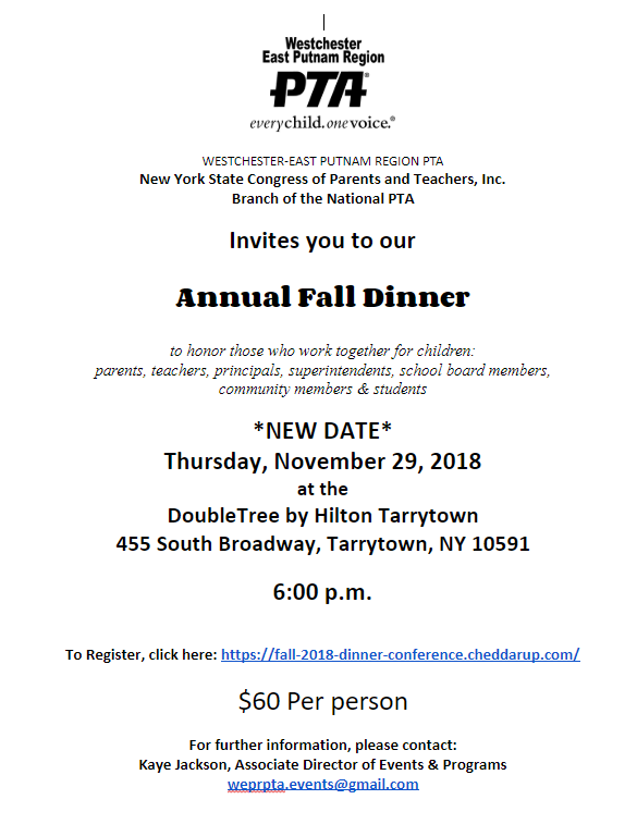 wepr 2018 fall dinner updated